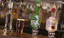 Greene King IPA and Abbot Ale