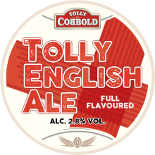 Tolly English Ale 2.8% ABV