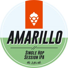 Amarillo Single Hop Session IPA 3.8% ABV