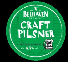 Belhaven Craft Pilsner 4.8% ABV