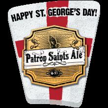 Patron Saints Ale (St George's Day) 4.2% ABV