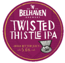 Belhaven Twisted Thistle IPA 5.6% ABV