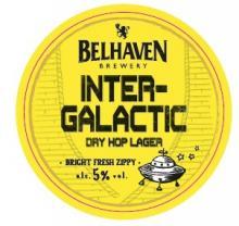Belhaven Intergalactic keg lens 5.0% ABV